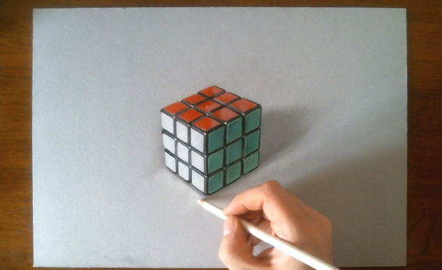 Cara Mudah Membuat Gambar Sketsa 3d Dengan Pensil Carakreatif Com