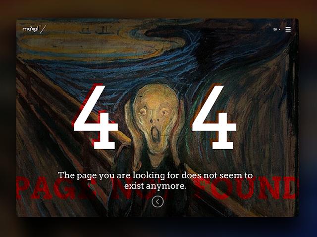 مجموعة صفحات 404 إبداعية ستعيد بناء جمالية صفحات الويب لديك
