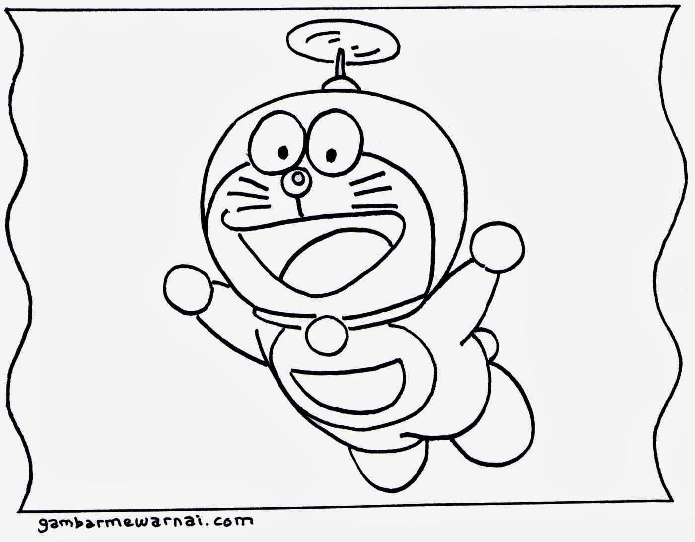 Gambar Mewarnai Tokoh Kartun Untuk Anak Anak Gambar Dan Foto