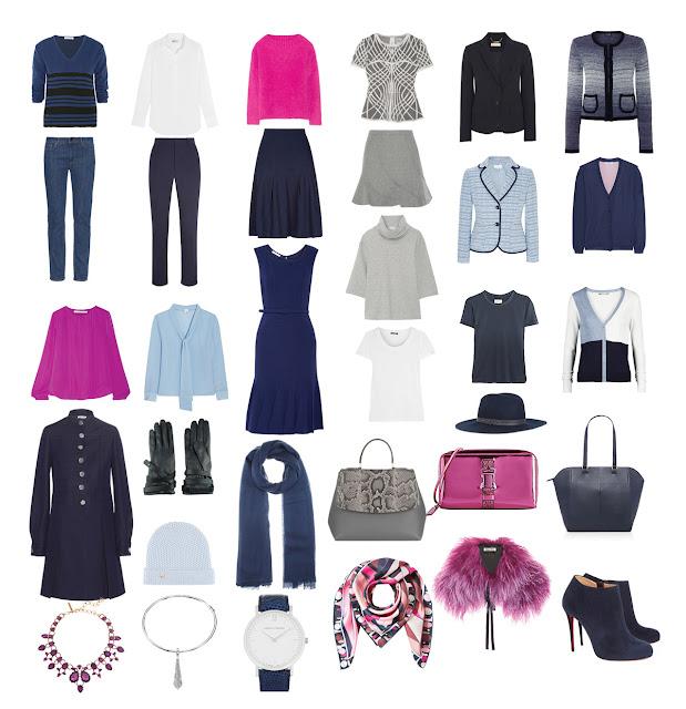 Объекты гардероба Project 333 в стиле Ladylike
