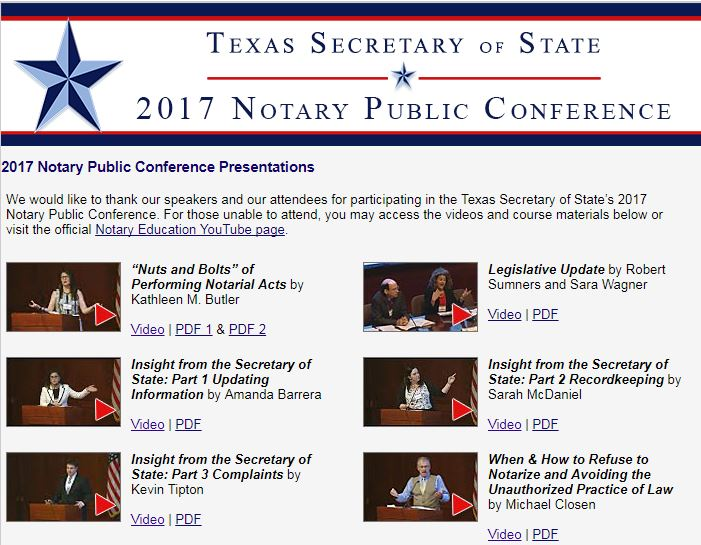 Notaries and notary news october 2017 legislative update for texas notaries ccuart Image collections