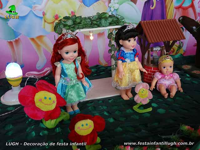 Decoração de festa infantil tema Princesas Disney Baby - Festa de aniversário