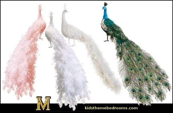 Life-Size Regal Peacock   Peacock theme decorating - peacock theme decor - exotic style decorating - Peacock Decorations - Peacock Nursery - peacock wall decoration - peacock Christmas decorating - peacock color decor - peacock wallpaper - peacock bedding - life size peacock decorations - Peacock feather  - Peacock living room