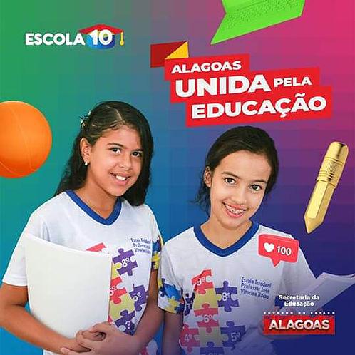 Prefeitura de Delmiro Gouveia assina pactuação do Programa Escola 10 com o Governo do Estado