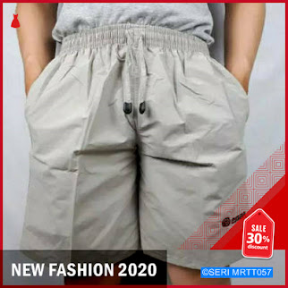 MRTT057C30 Celana Pendek Santai Bordir Polos Keren BMGShop