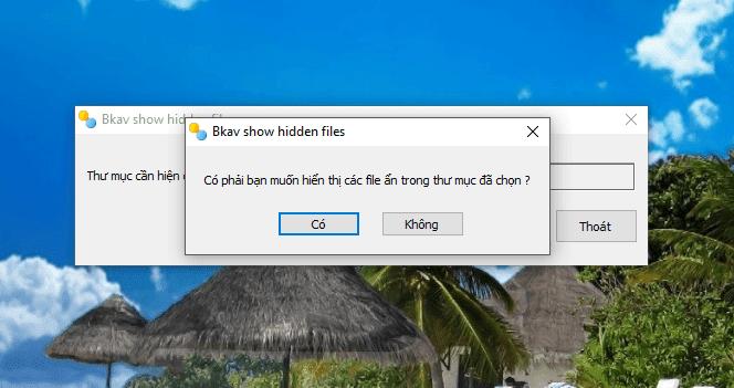 Hướng dẫn hiện file hoặc folder bị ẩn do virus