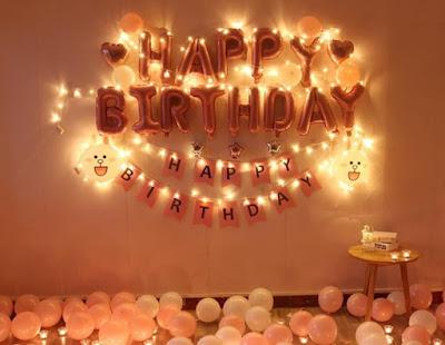dekorasi ulang tahun di kamar terbaru