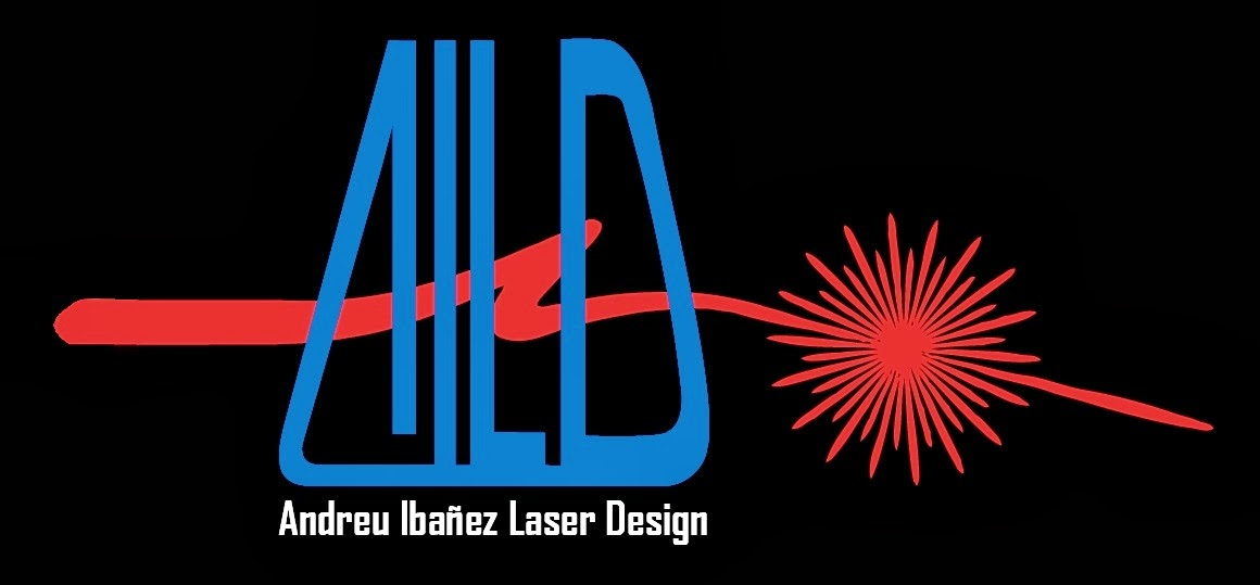 Andreu Ibanez Laser Design strikes back from 1987 aka: Light Amplification by Stimulated Emission of Radiation