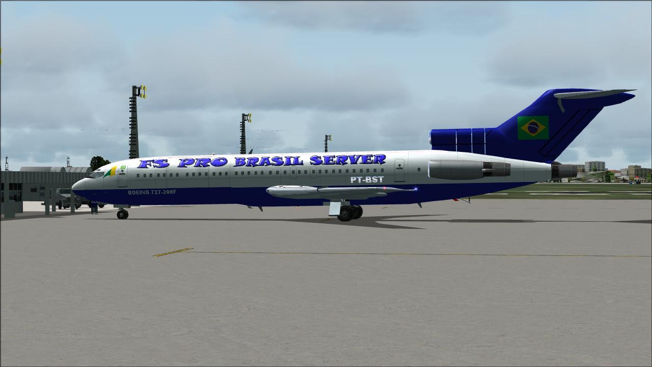 FS2004 - 727-200 FS PRO BRASIL SERVER (Aerosim) - FS2004
