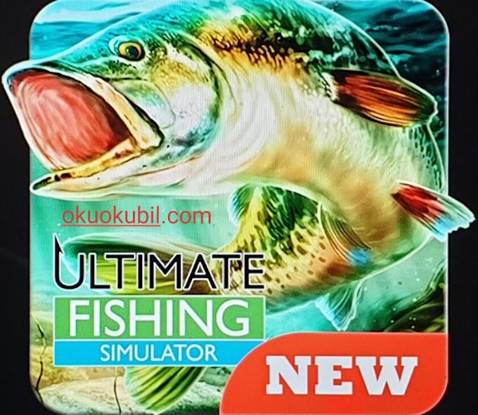 Ultimate Fishing Simulator Balıkçılık v2.1 Sınırsız Para Mod Apk İndir Mayıs 2019