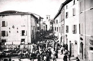 Torre orologio  Casola valsenio 1908