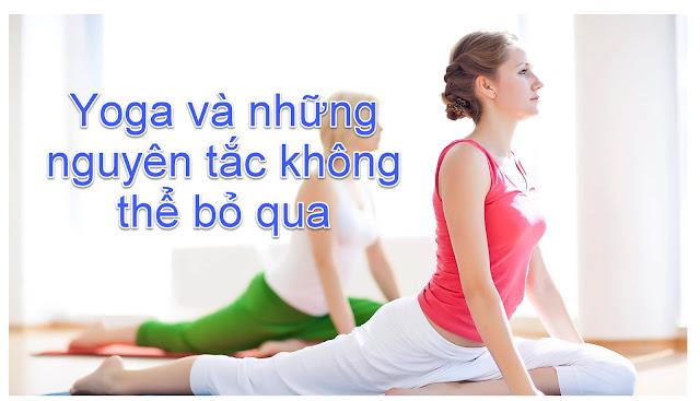 Yoga và Những nguyên tắc không thể bỏ qua