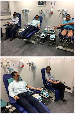 Balonmano Santiago Donación Sangre Hospital del Tajo