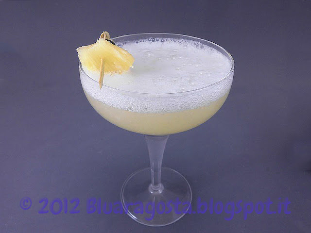 cocktail ananas prosecco