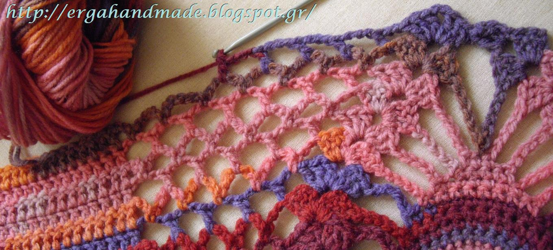 Ergahandmade Crochet Coat Free Pattern Diagrams Snowflakescrochetpatterndiagram
