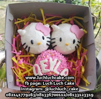 Cupcake Hello Kitty Buttercream