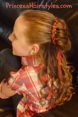 "valentine's day hairstyles ""puffy heart bun""  hairstyles"