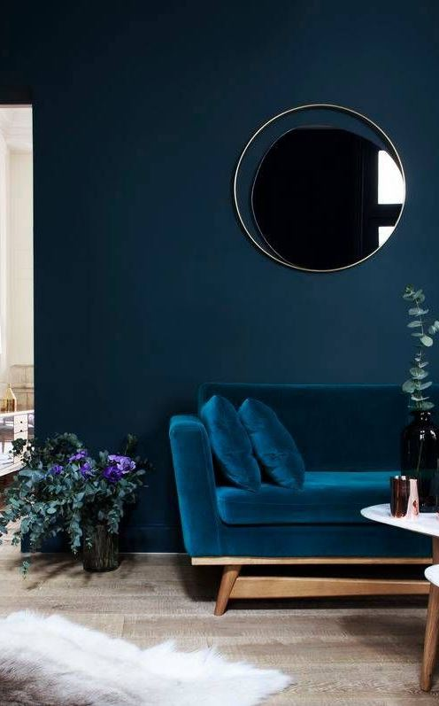 VIBRANT ROOM COLORS TO BRIGHTEN UP YOUR HOME Color Trends: 50+ Interior Design Idea That Will Totally Rock In 2017