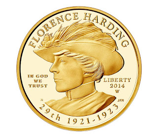 US Gold Coins Florence Harding 10 Dollars First Spouse Gold Coin