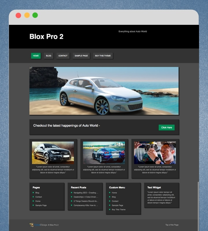 Blox Pro 2 (Versatile WooCommerce WordPress Theme)