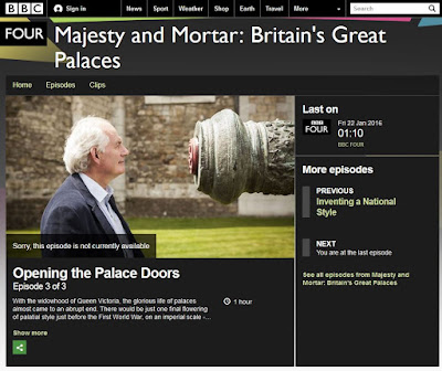 BBC4 - Majesty & Mortar - Britain's Great Palaces