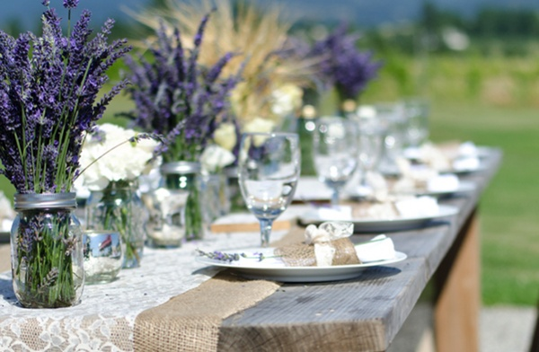 Emejing Lavender Centerpieces For Wedding Tables Photos Styles