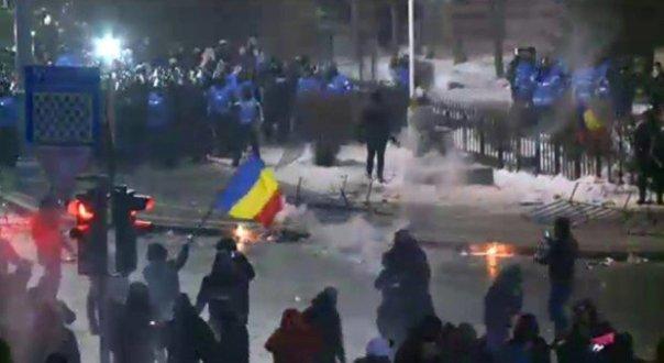 Jandarmul ranit in Piata Victoriei, MUTILAT pe viata: 'A ramas cu o GRAVA sechela'