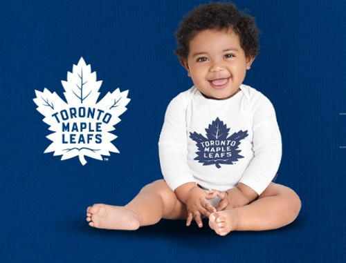 Carter's OshKosh Free Toronto Maple Leafs Lil' Leafs Bodysuit