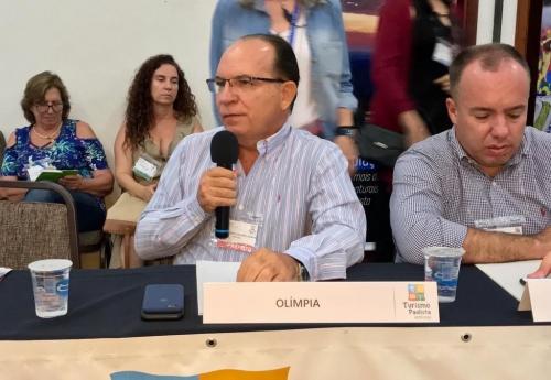 Olímpia se reúne com representantes de cidades turísticas para discutir convênios com o Estado