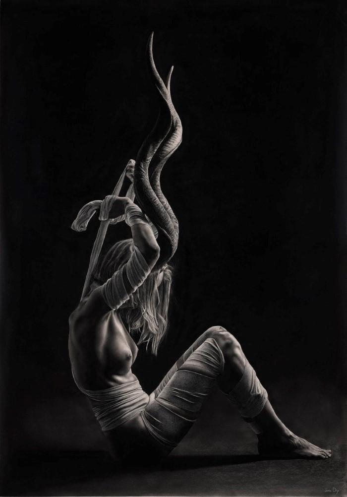 Фотореалистические сюрреалистические произведения. Jono Dry