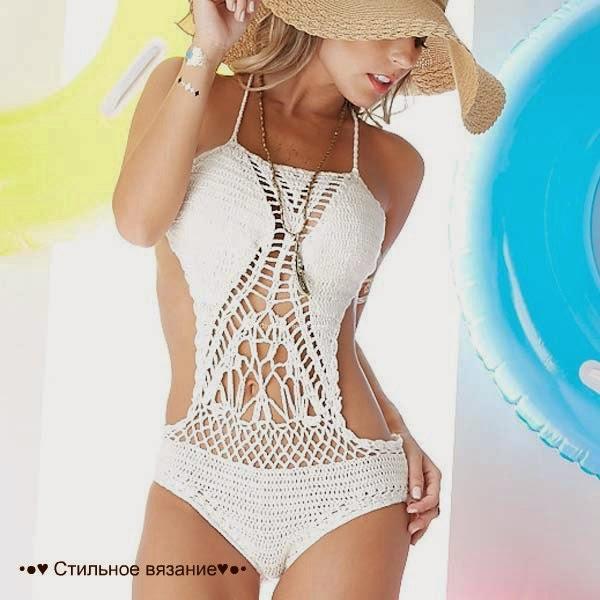 Patrones de traje de baño al crochet