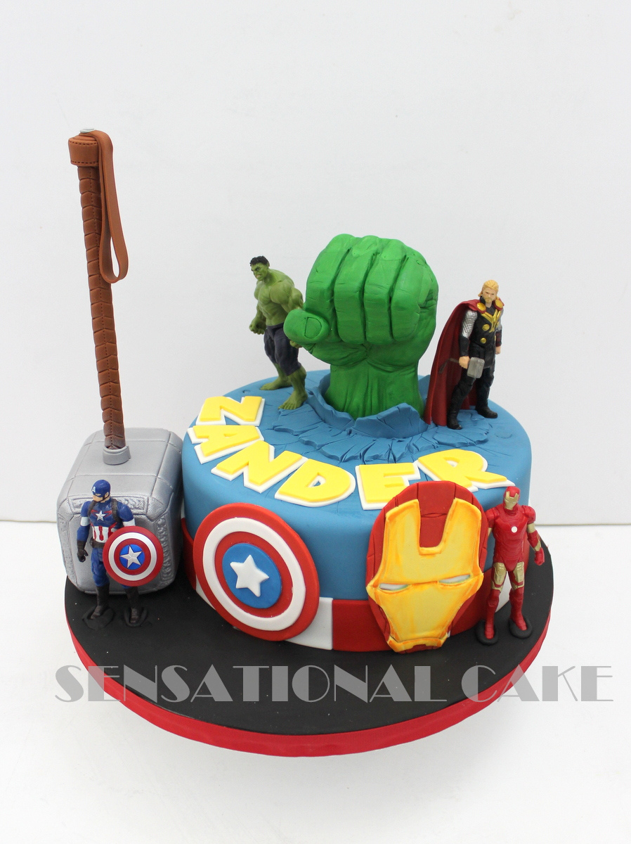 Avengers Cake Toppers Singapore
