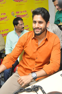 Naga chaitanya stills at premam song launch