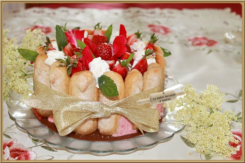 La table lorraine d 39 amelie charlotte aux fraises for Maison de charlotte aux fraises