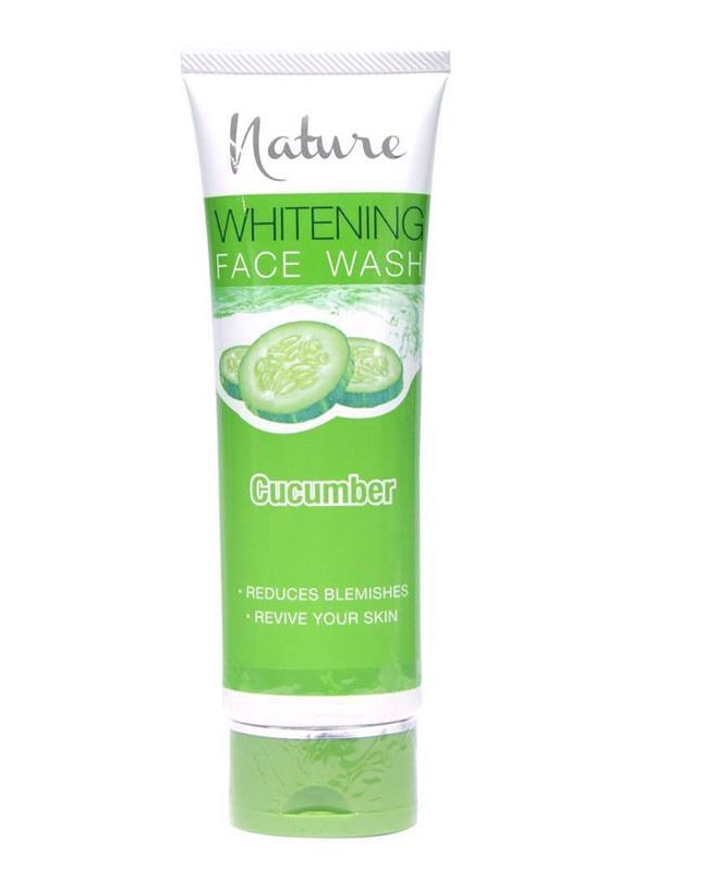 Nature Cucumber Whitening Facewash 100g