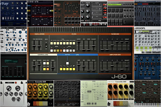List of Freeware Classic Synth and Keyboard Emulations