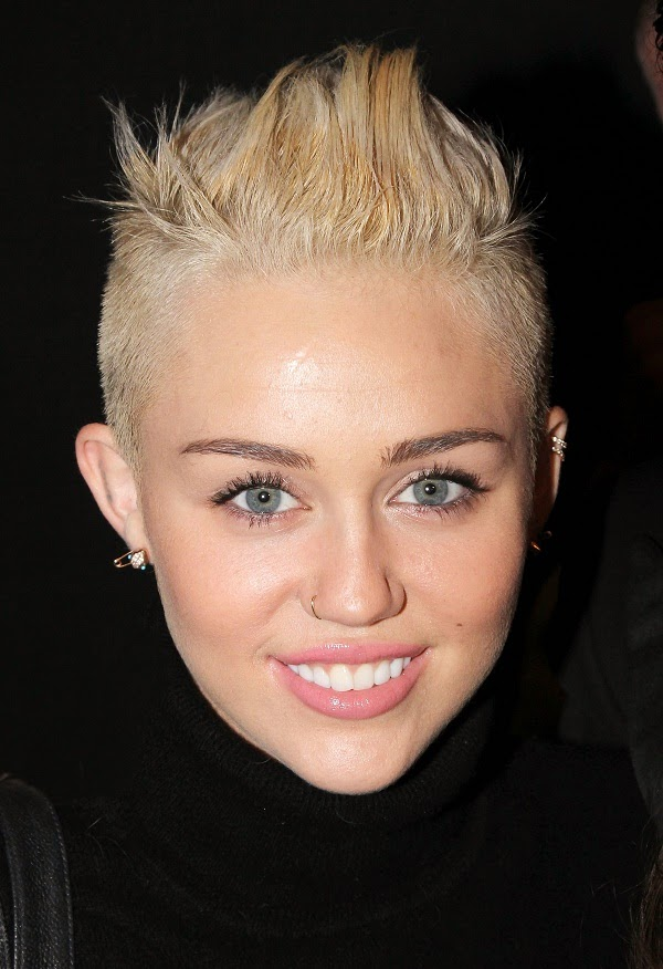 Miley Cyrus Haircut 2013