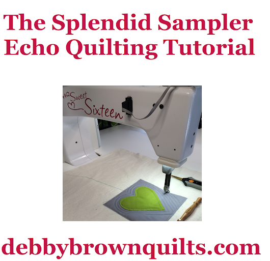 The Splendid Sampler -- Echo Quilting Tutorial