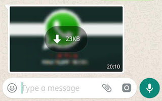 Whatsapp Sending images without compression