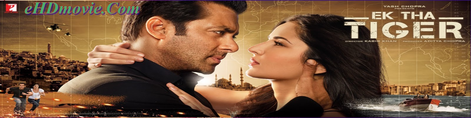 Ek Tha Tiger 2012 Full Movie Hindi 720p - HEVC - 480p ORG BRRip 450MB - 550MB - 1.1GB ESubs Free Download