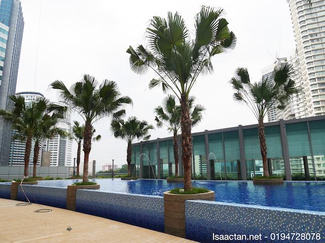 Beautiful facilities and amenities of VORTEX KL