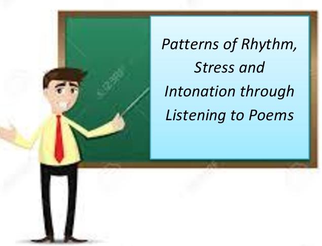 rhythm and intonation