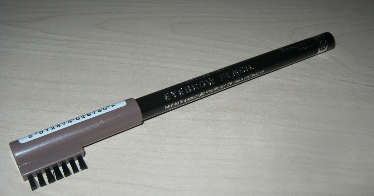 Review: Rimmel Professional Eyebrow Pencil