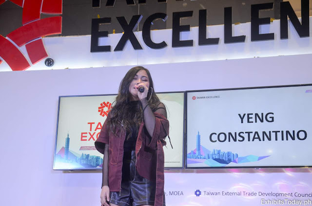 Yeng Constantino at The 1st Taiwan Excellence Day