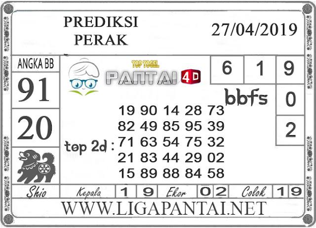 """Prediksi Togel """"PERAK"""" PANTAI4D 27 APRIL 2019"""