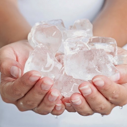 Ice Massaging
