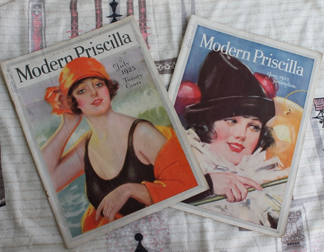 The Modern Priscilla magazine June and July 1923