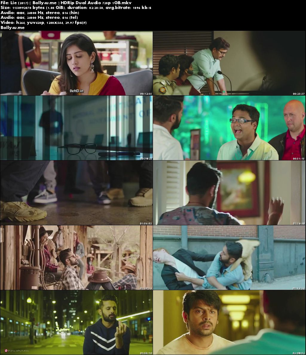 LIE 2017 HDRip UNCUT 450Mb Hindi Dubbed Dual Audio 480p ESub Download