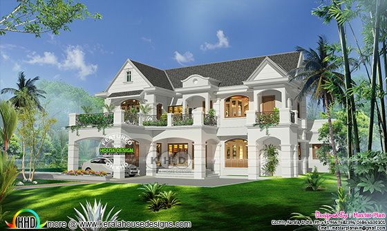 Grand Colonial home with 5 bedrooms