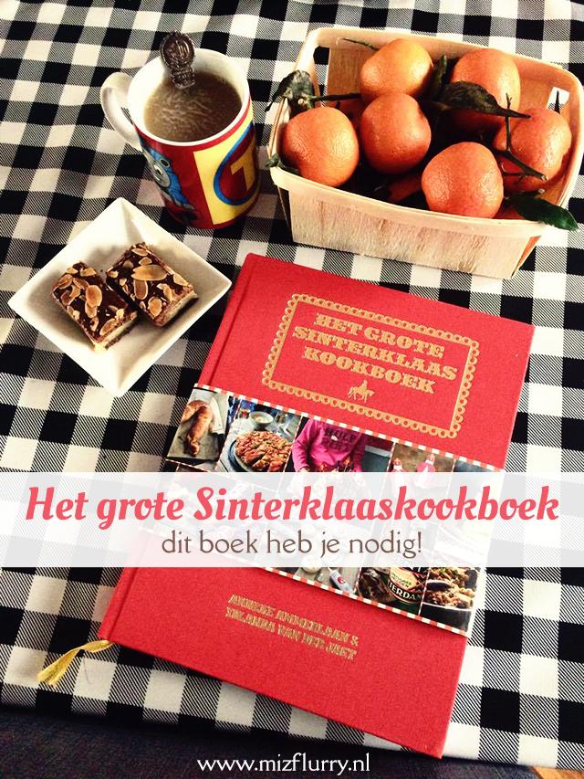 Het grote Sinterklaaskookboek - dit boek heb je nodig!
